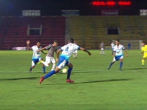 Parnahyba estreia na Copinha perdendo de goleada para o Fluminense