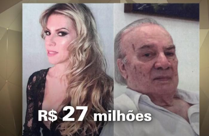 Wilde de Lima, de 88 anos, foi resgatado de cobertura na Barra com sinais de maus-tratos e desnutrido, segundo a família (Crédito: Reprodução)