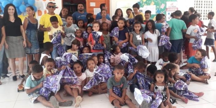 Prefeitura de Uruçuí realiza festa em comemoração ao dia das crianças na Zona Rural