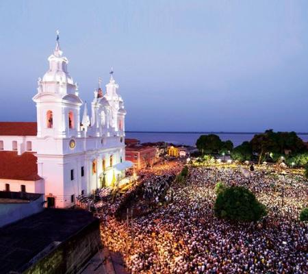 O círio de Nazaré, maior evento religioso do Brasil