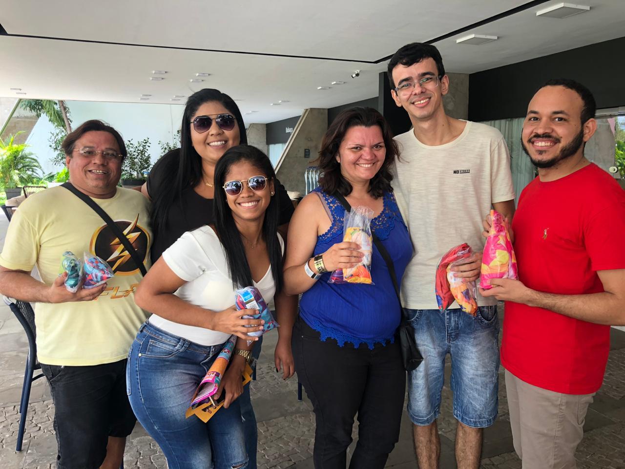 Turma reunida na expectativa da Micarina Meio Norte. Crédito: Lucrécio Arrais.