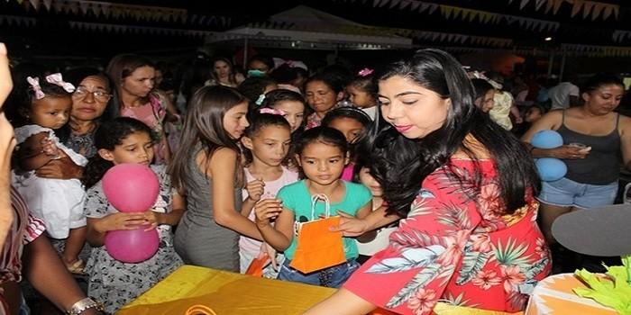Dia das crianças é comemorado em Santo Inácio do Piauí