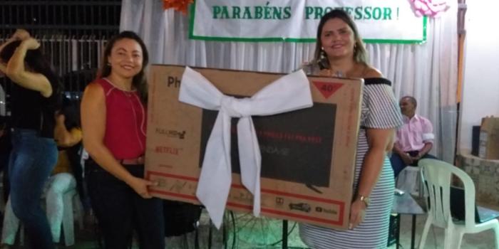 SEMEC de Uruçuí comemora  festa dos Professores em grande estilo