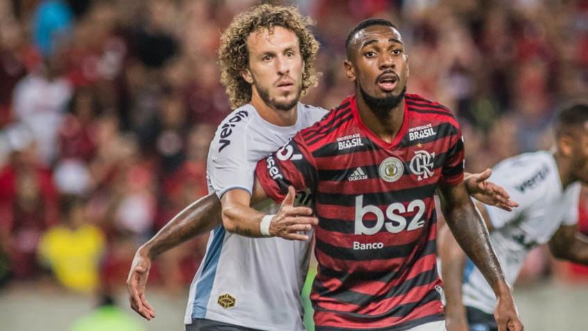Pelo Brasileirão, o Flamengo venceu o Grêmio no Maracanã (Foto: Maga Jr/Ofotografico/Lancepress!) .