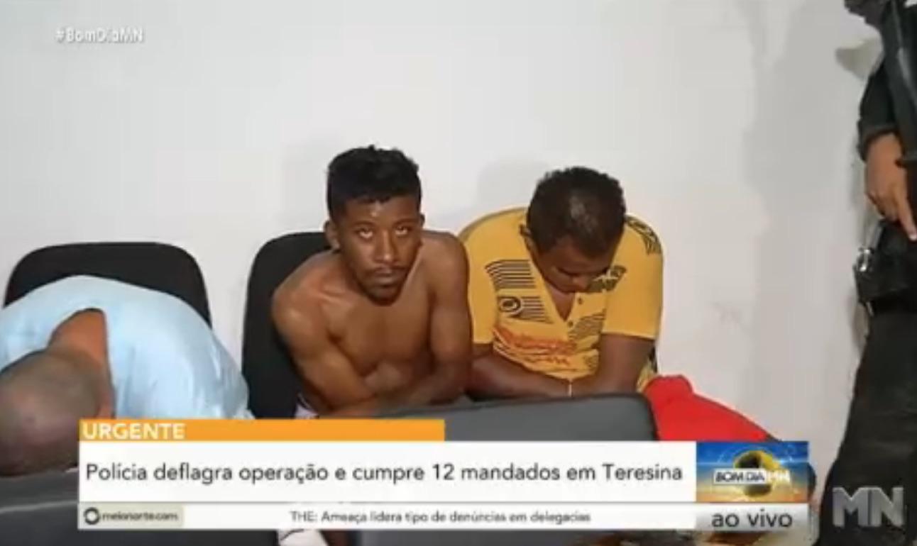 Polícia deflagra operação Contrassalto e prende 11 pessoas em Teresina - Imagem 4