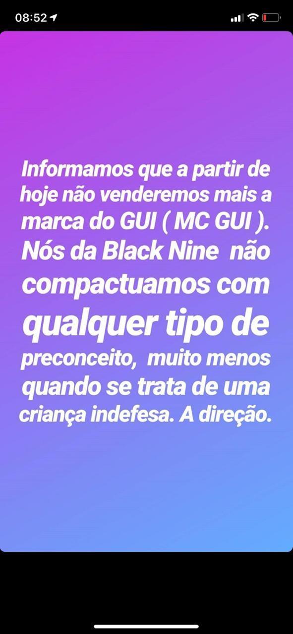 MC Gui perde contrato e tem show cancelado após polêmica na web - Imagem 2