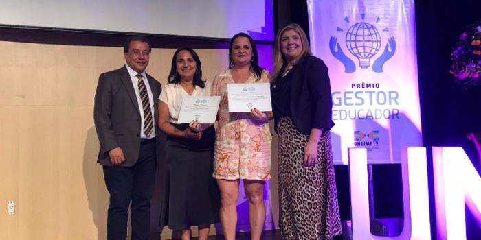 Undime premia gestão municipal de São João da Serra pela qualidade de ensino