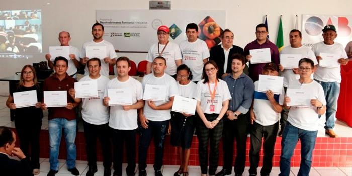 Prefeito Jonas Moura participa de lançamento do Plano de Ação Territorial da Cajucultura