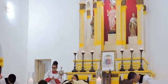 Padre Walfran Rios comemora 06 anos de sacerdócio com missa festiva