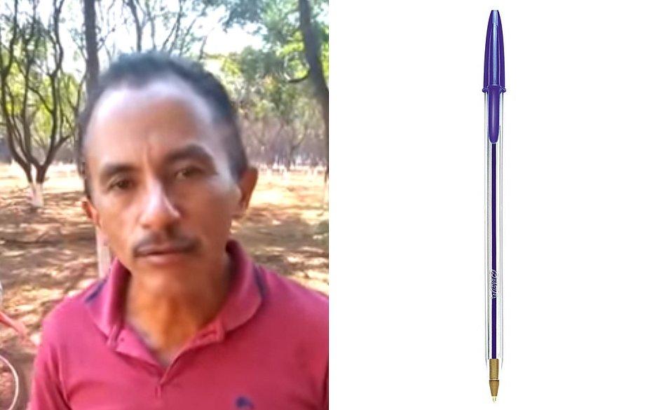Hit caneta azul ganha inspiração na web. Foto: Reprodução.