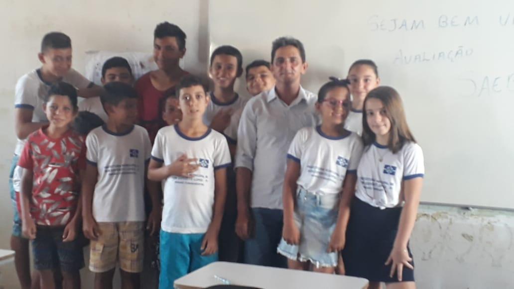 Escolas municipais em DEL recepcionam alunos que farão a Avalição SAEB 2019. - Imagem 14