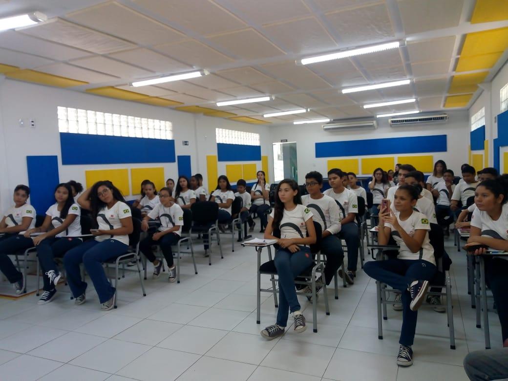 Estudantes da Fundação Bradesco visitam GMNC para produção de projeto  - Imagem 1