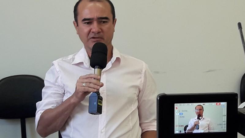 Edson Carlos Secretário Municipal de Educação