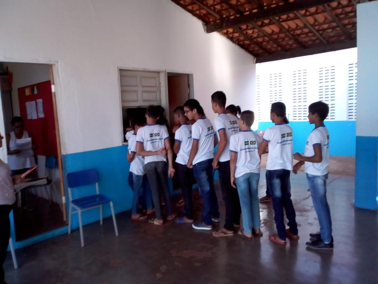 Escolas municipais em DEL recepcionam alunos que farão a Avalição SAEB 2019. - Imagem 17
