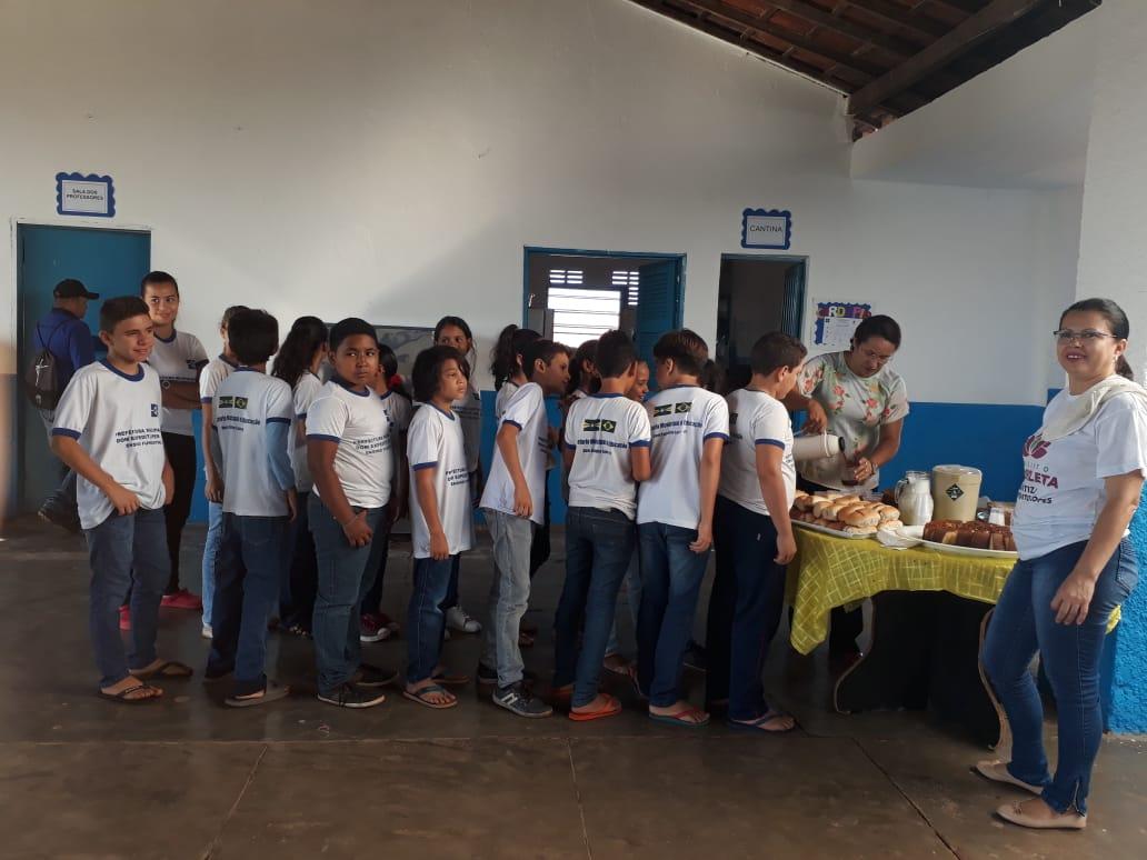 Escolas municipais em DEL recepcionam alunos que farão a Avalição SAEB 2019. - Imagem 10