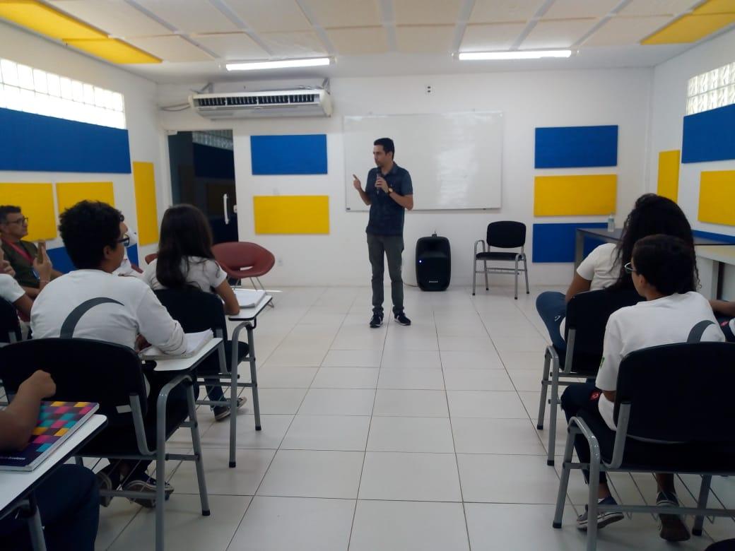 Estudantes da Fundação Bradesco visitam GMNC para produção de projeto  - Imagem 2