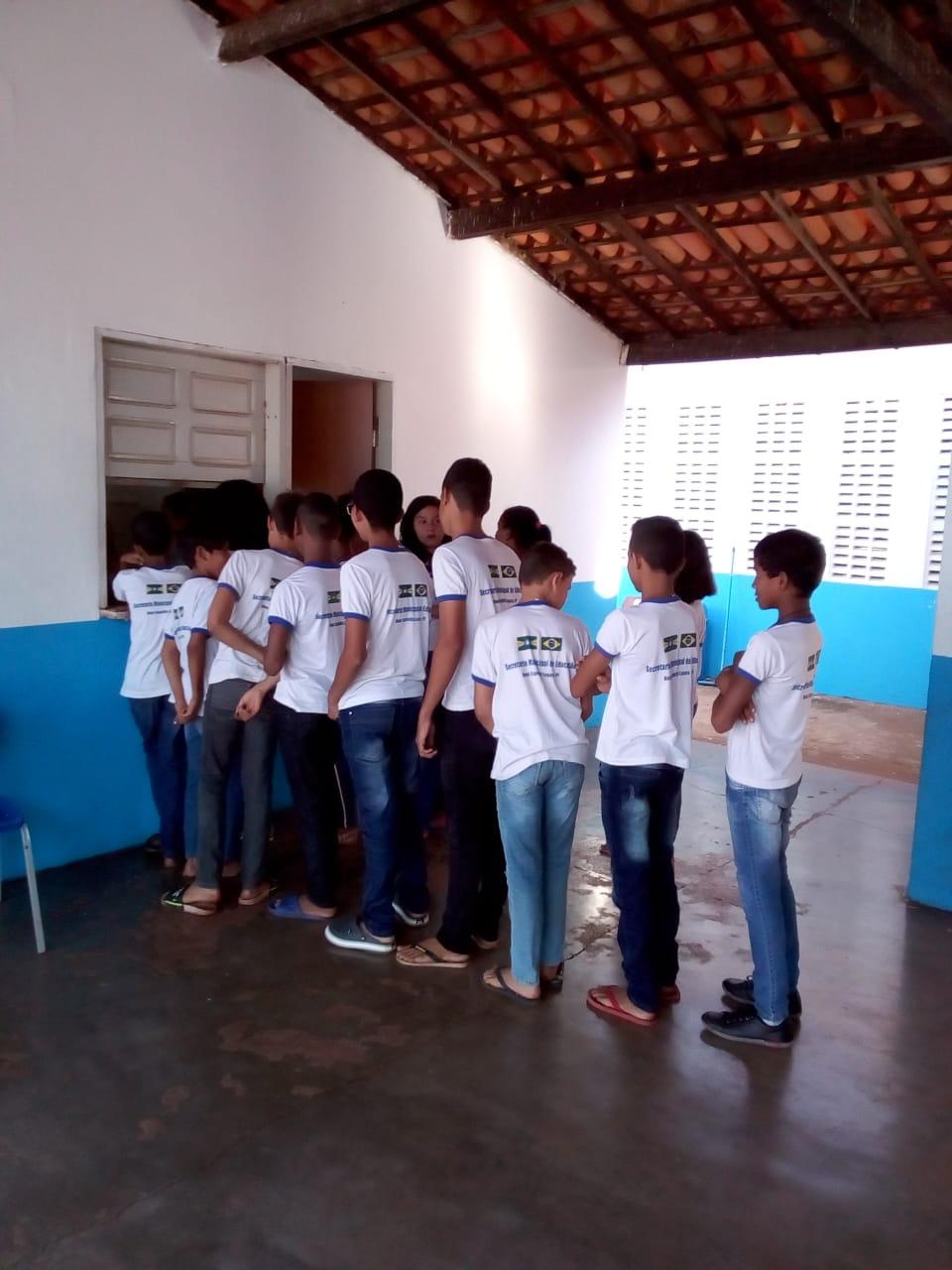 Escolas municipais em DEL recepcionam alunos que farão a Avalição SAEB 2019. - Imagem 9