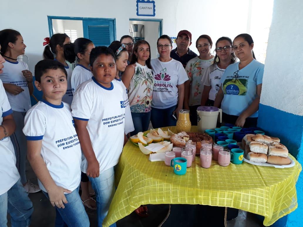 Escolas municipais em DEL recepcionam alunos que farão a Avalição SAEB 2019. - Imagem 5