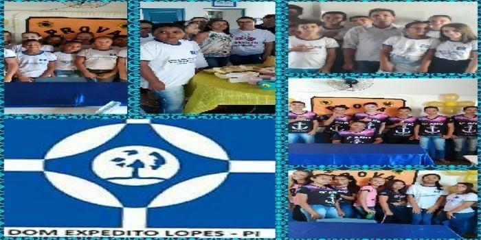 Escolas municipais em DEL recepcionam alunos que farão a Avalição SAEB 2019.