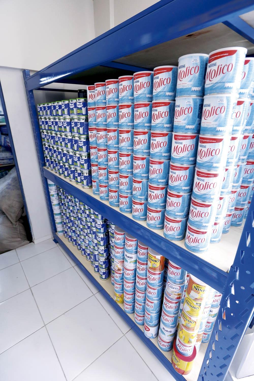 Micarina arrecada milhares de fraldas e leite para doação a entidades - Imagem 2