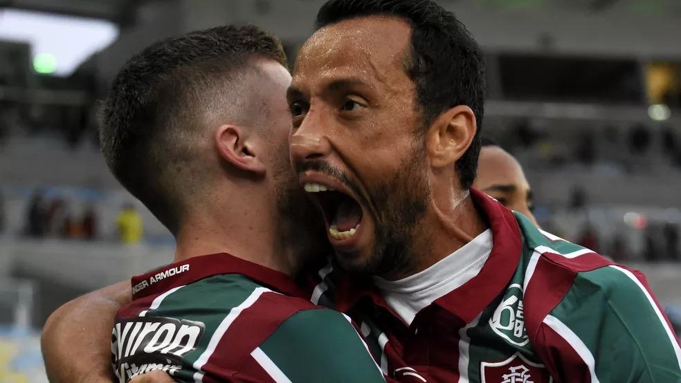 Nenê, meia do Fluminense, tem 38 anos e joga profissionalmente há 20 anos — Foto: Mailson Santana