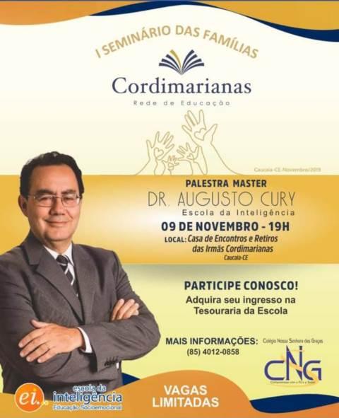 Representação de Dom Expedito Lopes-PI participa de palestra com Renomado Dr. Augusto Cury - Imagem 4