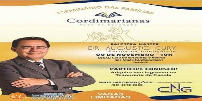 Representação de Dom Expedito Lopes-PI participa de palestra com Renomado Dr. Augusto Cury