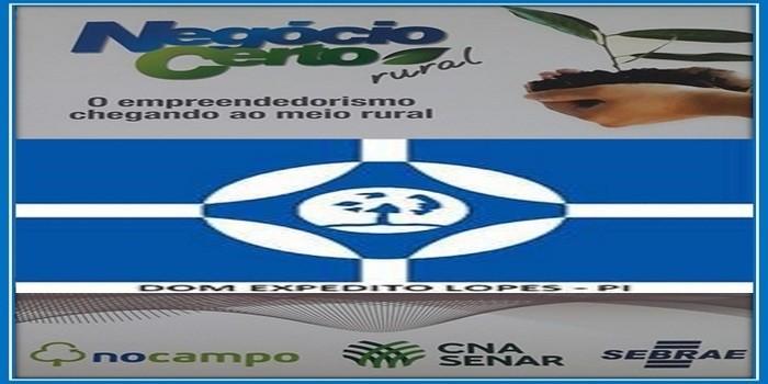 Secretaria Mun. de Agricultura e SENAR realizaram o curso Negócio Certo Rural em Dom Expedito Lopes