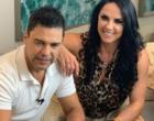 Graciele Lacerda revela na web que está oficialmente casada com Zezé