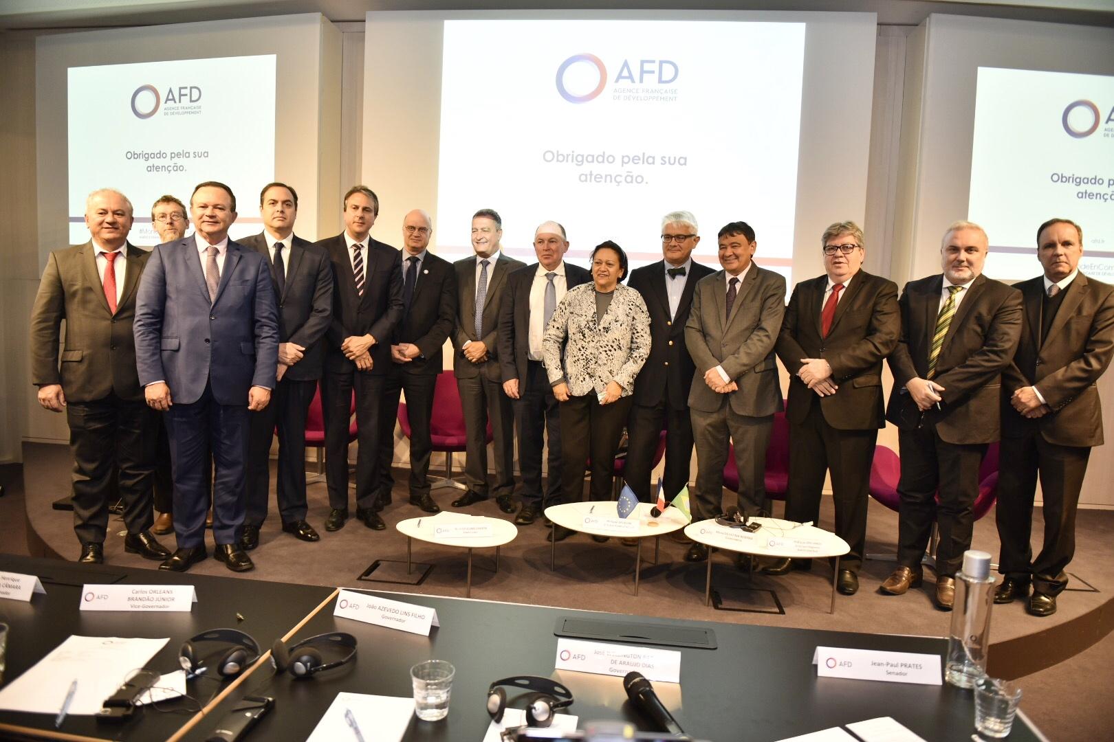 Governadores do NE discutem financiamento de projetos com a França - Imagem 3