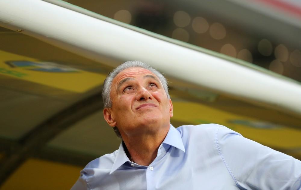 Tite na vitória contra a Coreia do Sul: treinador vai para o quarto ano à frente da Seleção — Foto: Reuters