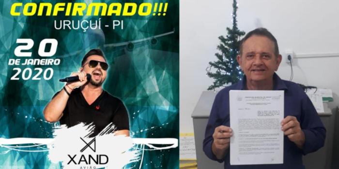 Xand Aviões é atração de Festejo de São Sebastião 2020