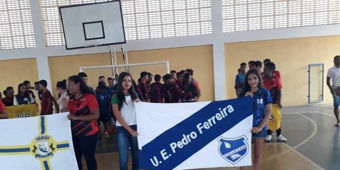 Secretaria de educação realiza interclasse com alunos da escola Pedro Ferreira