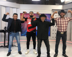 Sósia de Gabigol participa do Ronda do Povão e relata encontro com jogador