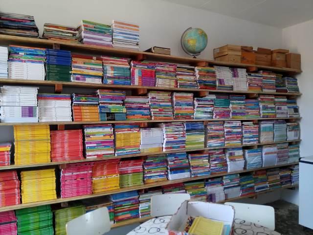 Escola municipal João Belarmino do Vale ganha novas estruturas na biblioteca - Imagem 14