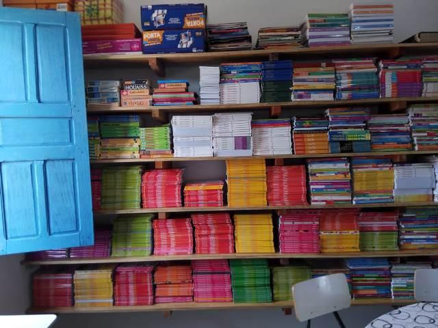 Escola municipal João Belarmino do Vale ganha novas estruturas na biblioteca - Imagem 13