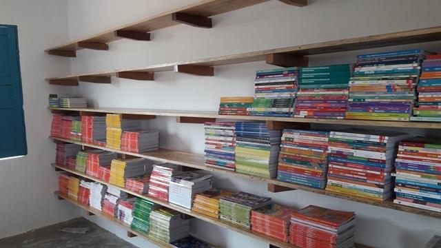 Escola municipal João Belarmino do Vale ganha novas estruturas na biblioteca - Imagem 4
