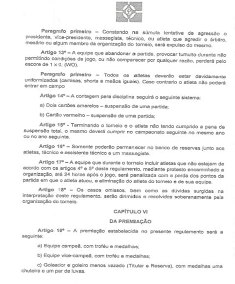 Reunião define programação do I Torneio Municipal de Futebol em Dom Expedito Lopes - Imagem 5