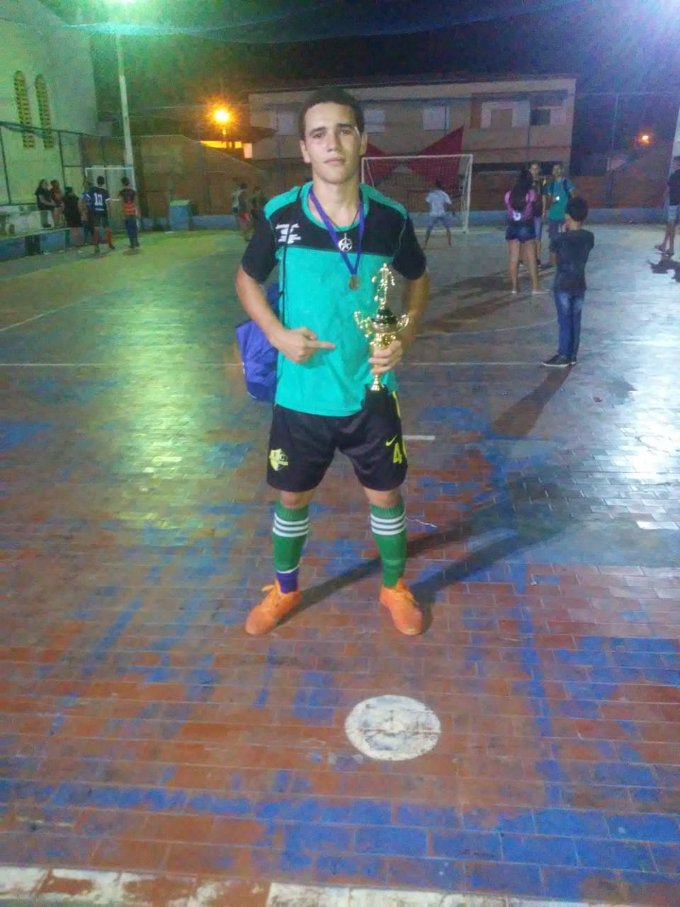 Pedro - Atleta Campeão