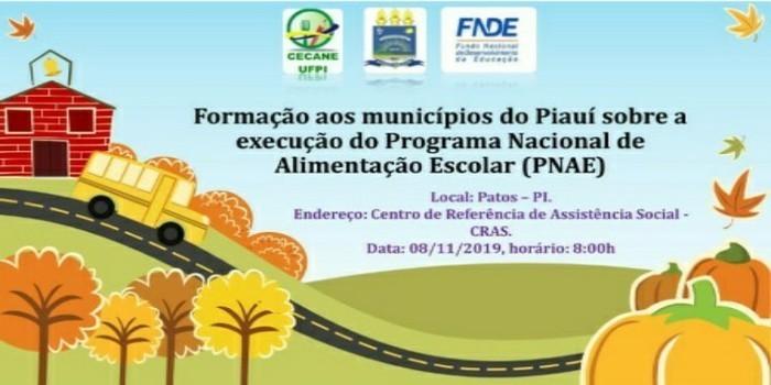 Educação de Dom Expedito Lopes participa de formação do PNAE em Patos do Piauí