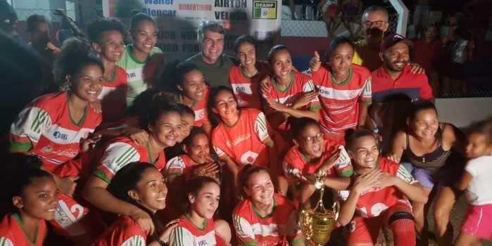 Futebol  feminino e masculino em destaque em Monsenhor Gil