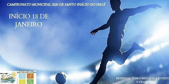 A 12ª edição do campeonato municipal de futebol de Santo Inácio já tem data de início marcada