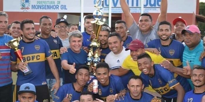 Boca Juniors da Baixa Grande vence e os times juntos levam 11 mil reais de premiação na final do Campeonato Municipal de Futebol