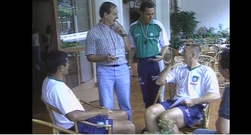Em 2002, Vanderlei Luxemburgo adota linha dura no Palmeiras