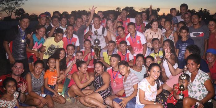 Mata Alta é campeã do Copão Rural de Futebol