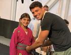 """Massafera reposta foto de Cauã Reymond com a filha: """"Pai e mãe babões"""""""