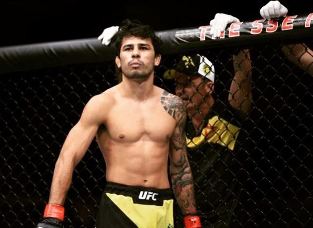 A. Panjota venceu no UFC Buzan Foto: Reprodução/Instagram @panjota_oficial .