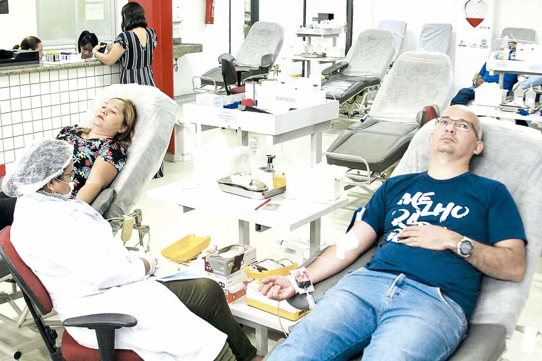 Doações de sangue caem 30% no fim de ano - Imagem 1