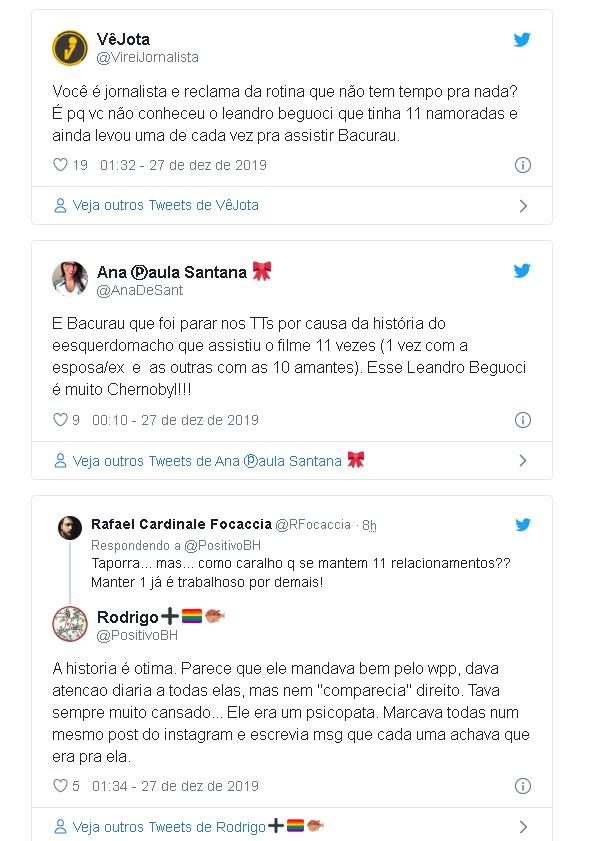 """Jornalista teve que assistir 11 vezes """"Bacurau"""" com todas as namoradas - Imagem 3"""