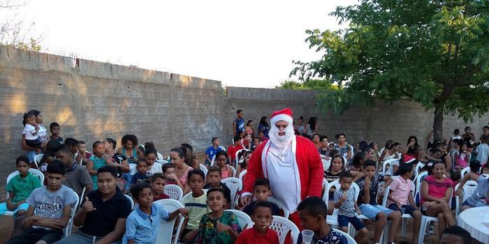 Natal das Crianças é realizado em Santo Inácio